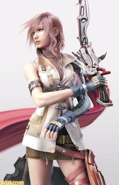 Final fantasy xiii lightning render