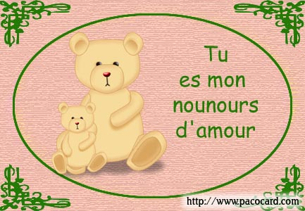 Nounours amour